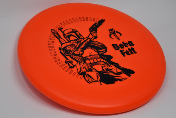 Buy Red Discraft Pro-D Challenger Star Wars Boba Fett Putt and Approach Disc Golf Disc (Frisbee Golf Disc) at Skybreed Discs Online Store