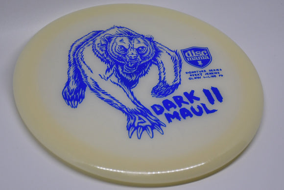Buy White Discmania Glow C-Line PD Dark Maul II Fairway Driver Disc Golf Disc (Frisbee Golf Disc) at Skybreed Discs Online Store