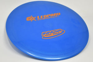 Buy Blue Innova G-Star Leopard Fairway Driver Disc Golf Disc (Frisbee Golf Disc) at Skybreed Discs Online Store