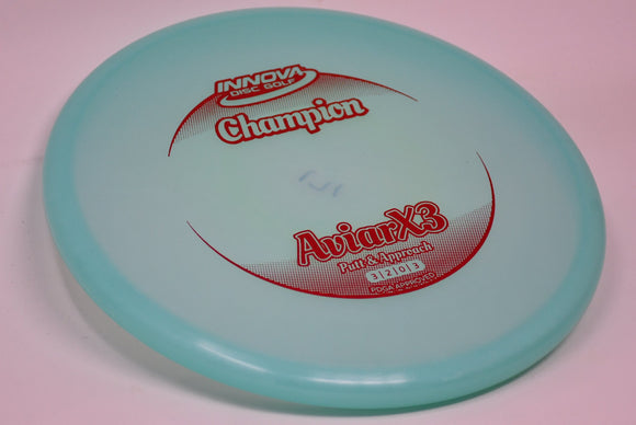 Buy Blue Innova Champion Aviar X3 Putt and Approach Disc Golf Disc (Frisbee Golf Disc) at Skybreed Discs Online Store