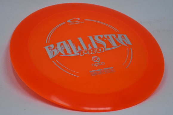 Buy Orange Latitude 64 Opto Ballista Pro Distance Driver Disc Golf Disc (Frisbee Golf Disc) at Skybreed Discs Online Store