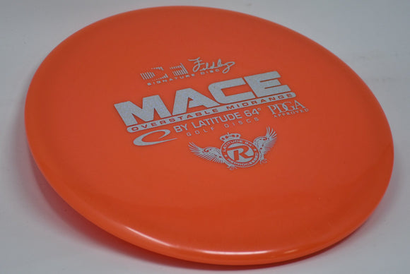 Buy Orange Latitude 64 Reprocessed Mace Midrange Disc Golf Disc (Frisbee Golf Disc) at Skybreed Discs Online Store