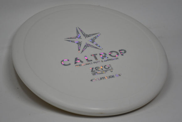 Buy White Latitude 64 Zero Soft Caltrop Putt and Approach Disc Golf Disc (Frisbee Golf Disc) at Skybreed Discs Online Store