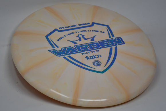 Buy Orange Dynamic Fuzion Burst Warden Putt and Approach Disc Golf Disc (Frisbee Golf Disc) at Skybreed Discs Online Store