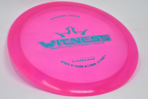 Buy Pink Dynamic Lucid Witness Fairway Driver Disc Golf Disc (Frisbee Golf Disc) at Skybreed Discs Online Store