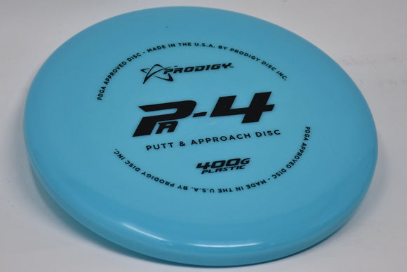 Buy Blue Prodigy 400G PA4 Putt and Approach Disc Golf Disc (Frisbee Golf Disc) at Skybreed Discs Online Store