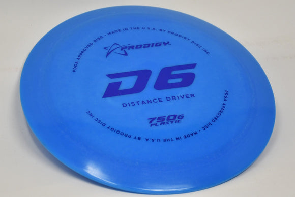Buy Blues Prodigy 750G D6 Distance Driver Disc Golf Disc (Frisbee Golf Disc) at Skybreed Discs Online Store