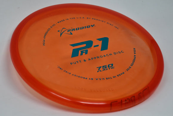 Buy Red Prodigy 750 PA1 Putt and Approach Disc Golf Disc (Frisbee Golf Disc) at Skybreed Discs Online Store