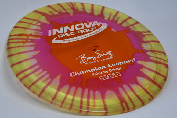 Buy Tie Dye Innova Champion I-Dye Leopard Fairway Driver Disc Golf Disc (Frisbee Golf Disc) at Skybreed Discs Online Store