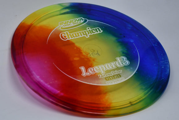 Buy Tie Dye Innova Champion I-Dye Leopard3 Fairway Driver Disc Golf Disc (Frisbee Golf Disc) at Skybreed Discs Online Store
