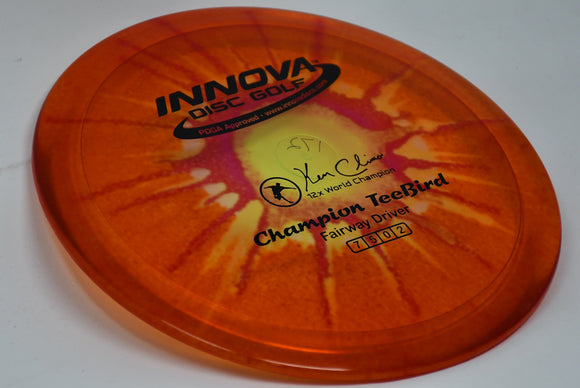 Buy Tie Dye Innova Champion I-Dye TeeBird Fairway Driver Disc Golf Disc (Frisbee Golf Disc) at Skybreed Discs Online Store