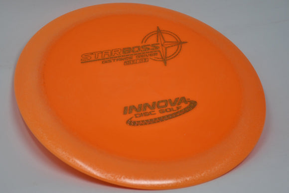 Buy Orange Innova Star Boss Distance Driver Disc Golf Disc (Frisbee Golf Disc) at Skybreed Discs Online Store