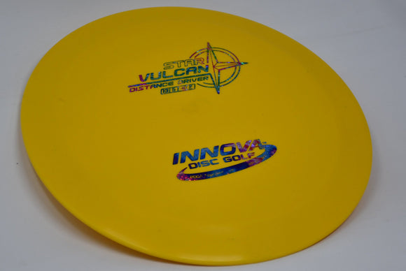 Buy Yellow Innova Star Vulcan Distance Driver Disc Golf Disc (Frisbee Golf Disc) at Skybreed Discs Online Store