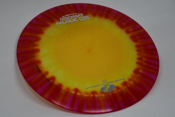 Buy Tie Dye Discraft Z Fly Dye Nuke OS Distance Driver Disc Golf Disc (Frisbee Golf Disc) at Skybreed Discs Online Store