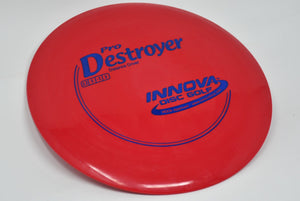 Buy Red Innova Pro Destroyer Distance Driver Disc Golf Disc (Frisbee Golf Disc) at Skybreed Discs Online Store