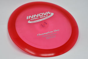 Buy Red Innova Champion Orc Distance Driver Disc Golf Disc (Frisbee Golf Disc) at Skybreed Discs Online Store