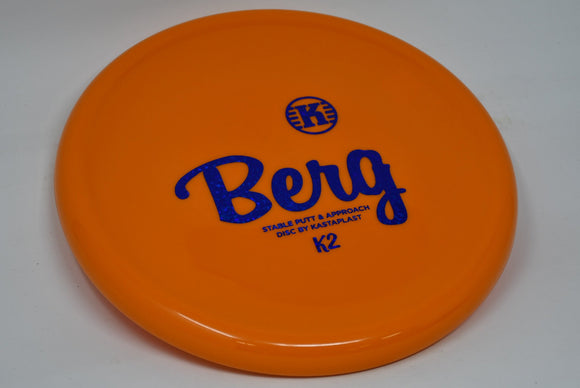 Buy Orange Kastaplast K2 Berg Putt and Approach Disc Golf Disc (Frisbee Golf Disc) at Skybreed Discs Online Store