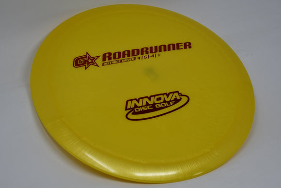 Buy Yellow Innova G-Star Roadrunner Fairway Driver Disc Golf Disc (Frisbee Golf Disc) at Skybreed Discs Online Store