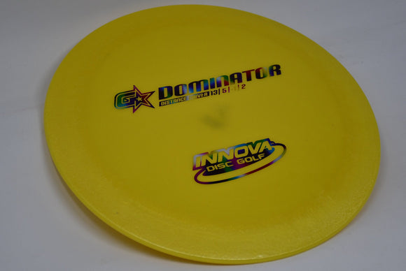Buy Yellow Innova G-Star Dominator Distance Driver Disc Golf Disc (Frisbee Golf Disc) at Skybreed Discs Online Store
