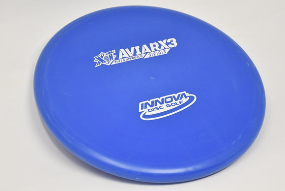 Buy Blue Purple Innova XT Aviar X3 Putt and Approach Disc Golf Disc (Frisbee Golf Disc) at Skybreed Discs Online Store