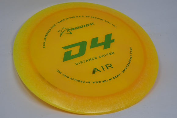 Buy Orange Prodigy Air D4 Distance Driver Disc Golf Disc (Frisbee Golf Disc) at Skybreed Discs Online Store