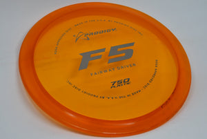 Buy Orange Prodigy 750 F5 Fairway Driver Disc Golf Disc (Frisbee Golf Disc) at Skybreed Discs Online Store