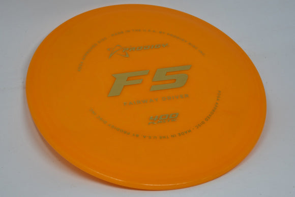 Buy Orange Prodigy 400 F5 Fairway Driver Disc Golf Disc (Frisbee Golf Disc) at Skybreed Discs Online Store