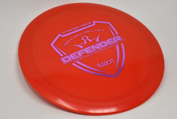 Buy Red Dynamic Fuzion Defender Distance Driver Disc Golf Disc (Frisbee Golf Disc) at Skybreed Discs Online Store