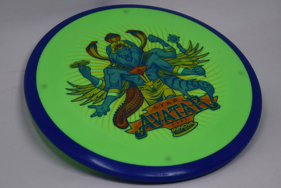 Buy Green Innova Innfuse Star Avatar Midrange Disc Golf Disc (Frisbee Golf Disc) at Skybreed Discs Online Store