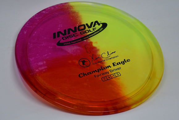Buy Tie Dye Innova Champion I-Dye Eagle Fairway Driver Disc Golf Disc (Frisbee Golf Disc) at Skybreed Discs Online Store
