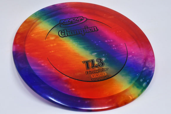 Buy Tie Dye Innova Champion I-Dye TL3 Fairway Driver Disc Golf Disc (Frisbee Golf Disc) at Skybreed Discs Online Store