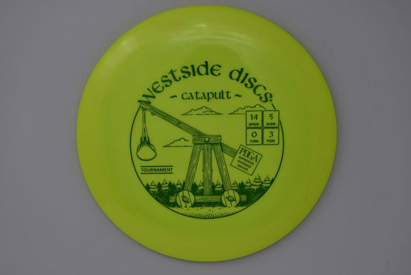 Buy Westside Tournament Catapult disc golf disc (frisbee golf disc) at Skybreed Discs online store