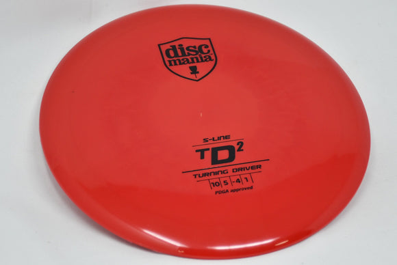 Buy Red Discmania S-Line TD2 Fairway Driver Disc Golf Disc (Frisbee Golf Disc) at Skybreed Discs Online Store
