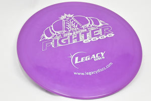 Buy Purple Legacy Icon Fighter Fairway Driver Disc Golf Disc (Frisbee Golf Disc) at Skybreed Discs Online Store