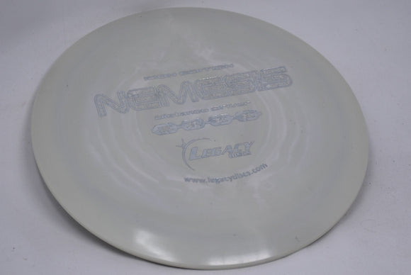 Buy White Legacy Icon Nemesis Fairway Driver Disc Golf Disc (Frisbee Golf Disc) at Skybreed Discs Online Store