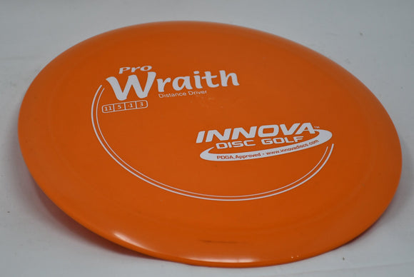 Buy Orange Innova Pro Wraith Distance Driver Disc Golf Disc (Frisbee Golf Disc) at Skybreed Discs Online Store