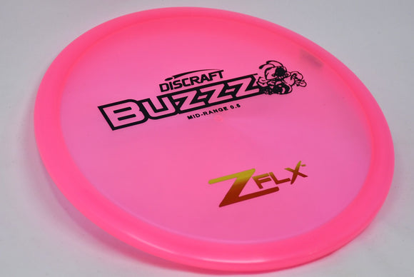 Buy Pink Discraft Z-FLX Buzzz Midrange Disc Golf Disc (Frisbee Golf Disc) at Skybreed Discs Online Store