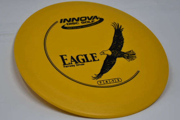 Buy Yellow Innova DX Eagle Fairway Driver Disc Golf Disc (Frisbee Golf Disc) at Skybreed Discs Online Store