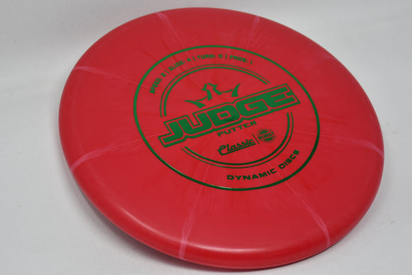 Buy Red Dynamic Classic Burst Judge Putt and Approach Disc Golf Disc (Frisbee Golf Disc) at Skybreed Discs Online Store