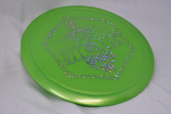 Buy Green Infinite Discs G-Blend Sphinx Fairway Driver Disc Golf Disc (Frisbee Golf Disc) at Skybreed Discs Online Store