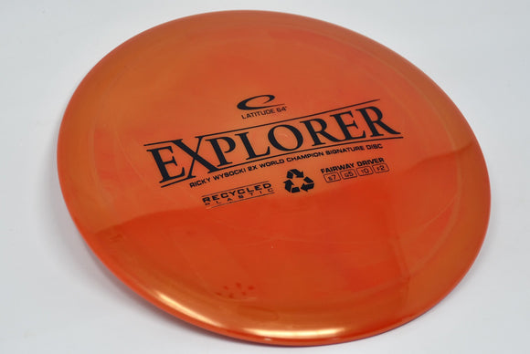 Buy Latitude 64 Recycled Explorer disc golf disc (frisbee golf disc) at Skybreed Discs online store