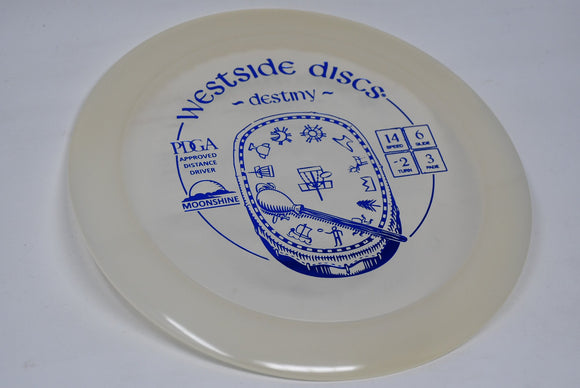 Buy Westside Moonshine Destiny disc golf disc (frisbee golf disc) at Skybreed Discs online store