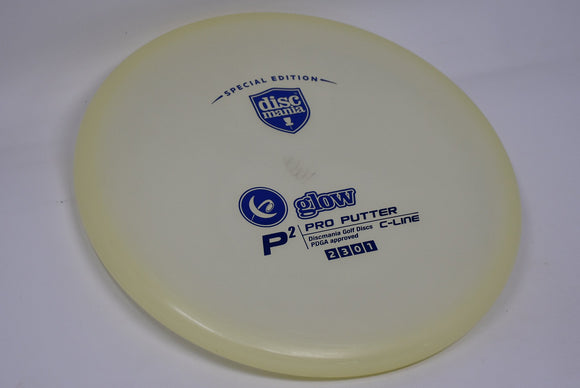 Buy Discmania Glow C-Line P2 Special Edition Stamp disc golf disc (frisbee golf disc) at Skybreed Discs online store