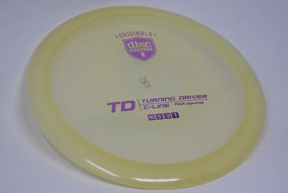 Buy Clear Discmania C-Line TD Fairway Driver Disc Golf Disc (Frisbee Golf Disc) at Skybreed Discs Online Store