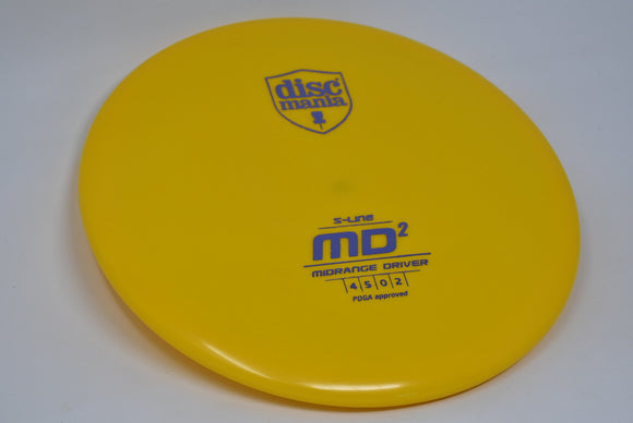 Buy Yellow Discmania S-Line MD2 Midrange Disc Golf Disc (Frisbee Golf Disc) at Skybreed Discs Online Store