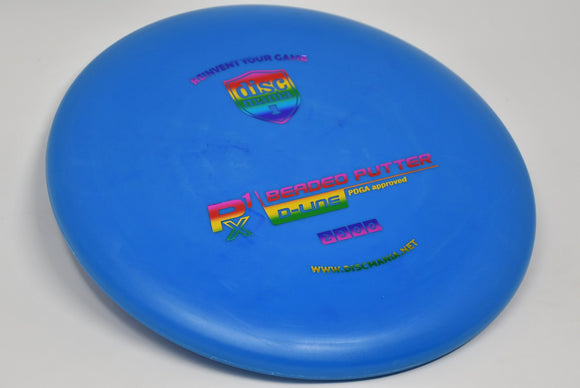 Buy Blue Discmania D-Line P1X Putt and Approach Disc Golf Disc (Frisbee Golf Disc) at Skybreed Discs Online Store