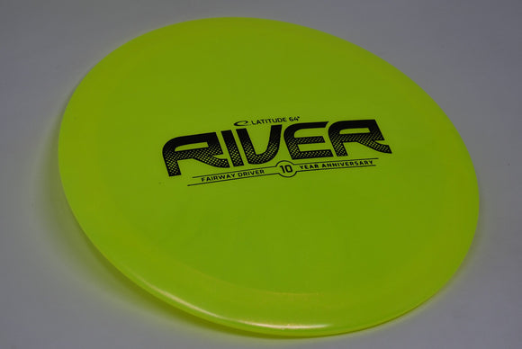 Buy Yellow Latitude 64 Lucid-X Glimmer River Fairway Driver Disc Golf Disc (Frisbee Golf Disc) at Skybreed Discs Online Store