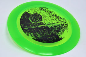 Buy Green Discraft Z Nuke Star Wars Death Star Distance Driver Disc Golf Disc (Frisbee Golf Disc) at Skybreed Discs Online Store