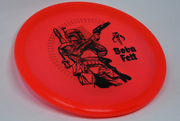 Buy Red Discraft Z Zone Star Wars Boba Fett Putt and Approach Disc Golf Disc (Frisbee Golf Disc) at Skybreed Discs Online Store