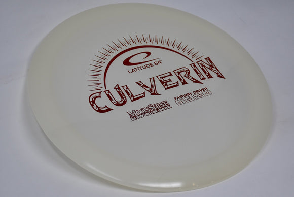 Buy White Latitude 64 Moonshine Culverin Fairway Driver Disc Golf Disc (Frisbee Golf Disc) at Skybreed Discs Online Store